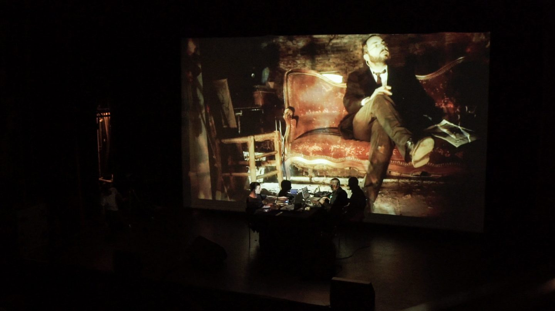 Malo et Murcof Live AV @ Transient Festival 2015 - Espace Pierre Cardin - 34