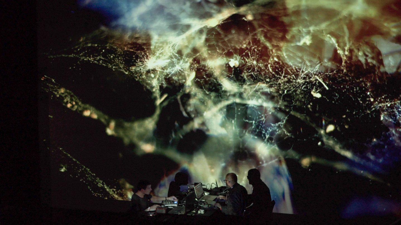 Malo+Murcof Live AV @ Transient Festival 2015 - Espace Pierre Cardin - 04