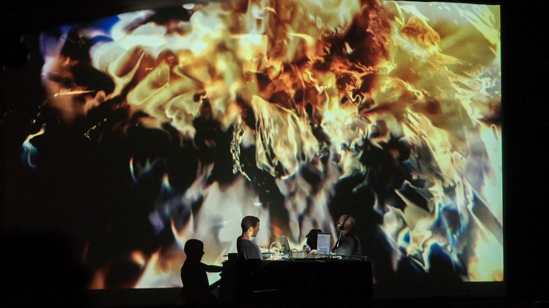 Malo+Murcof Live AV @ Transient Festival 2015 - Espace Pierre Cardin - 06