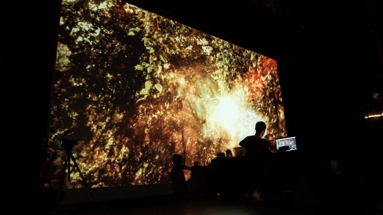 Malo+Murcof Live AV @ Transient Festival 2015 - Espace Pierre Cardin - 32