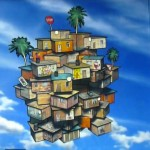 Mysterious Kid: Installation vidéo «Flying Favela Dream»