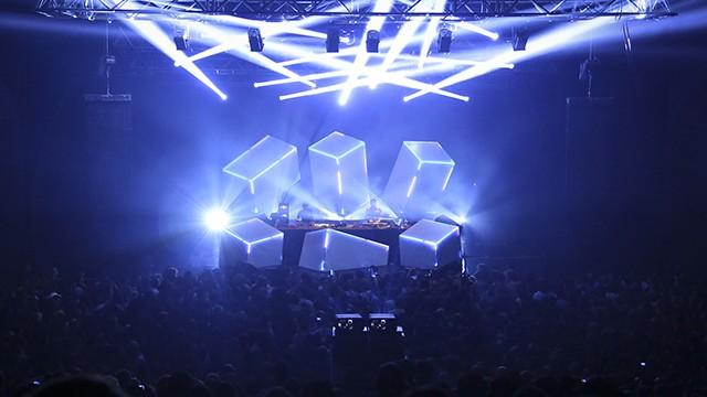 WSK: Stage Design «Equilibrium» @ Gramatik live show (Lyon)