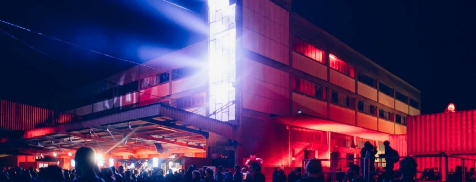 Perspectives: Lighting & Video mapping @ Ososphère Festival 2014