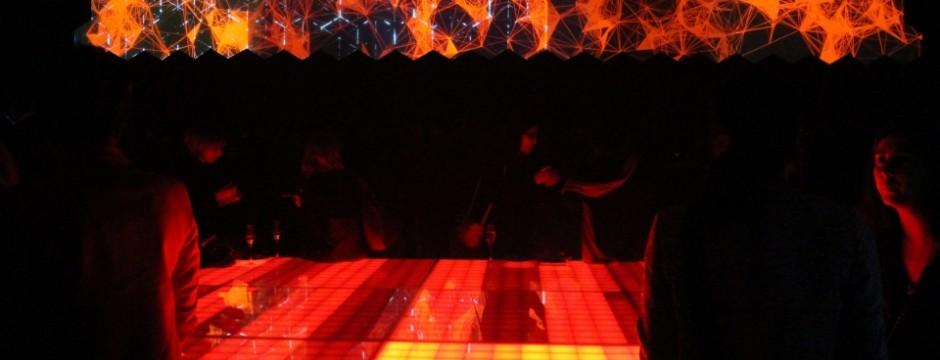 Cité Internationale: interactive dancefloor