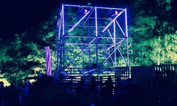 RDV Collective – LED Layher Tower @ Démon d'Or Festival 2016
