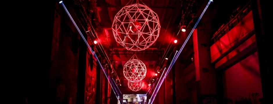 AVE w/ Red Stars Installation @ Marsatac 2016