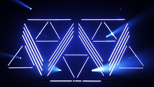 WSK – Wavvy – LED Stage Design @ Scopitone Festival 2016
